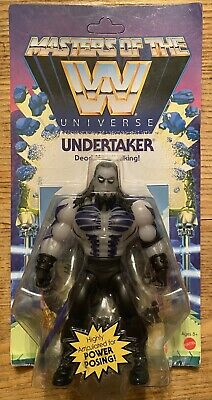 """$19 • Buy Masters Of The WWE Universe Undertaker MOTU 5"""" Action Figure New MOC Unpunched"""