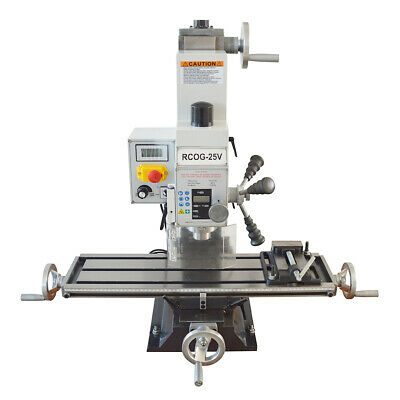 $2003.55 • Buy RCOG-25V Precision Mill/Drill Bench Top Mill And Drilling Machine 110V 27*7