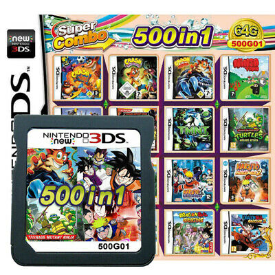 UK 482 In 1 Video Game Card Super Mario For Nintendo DS NDSL NDSI 2DS 3DS Gift • 13.99£