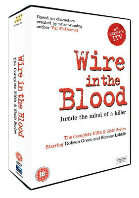 £4.84 • Buy Wire In The Blood: The Complete Fifth And Sixth Series DVD (2016) Robson Green