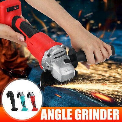 Cordless Electric Angle Grinder Cutting Machine Polisher DIY Power Tool  ☆a☆ • 45.44£
