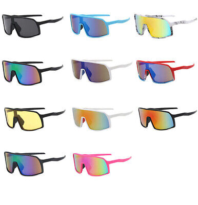 Mens Womens Outdoor Sports Cycling Bike Running Sunglasses Lens Goggle Glasses • 6.09£