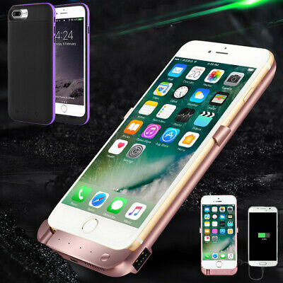 AU16.99 • Buy Portable Power Bank Back Pack Battery Charger Case Cover For IPhone 6 6s 7 8Plus
