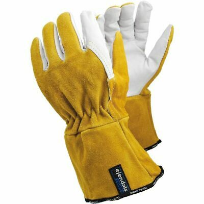£13.99 • Buy ~~ TEGERA Welding 118A Heat Resistant Leather Tig Mig Work Gloves All Sizes ~~