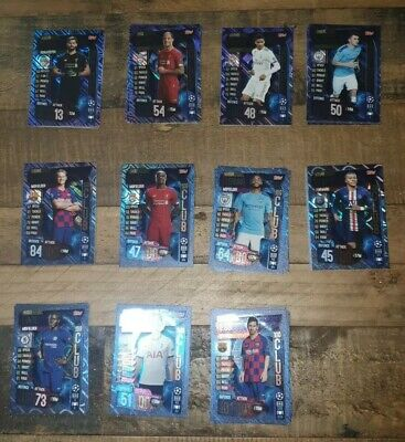 Match Attax 19/20 Full Set 100 Club X11 CARDS  Messi 101 MBAPPE VAN DIJK • 6.99£