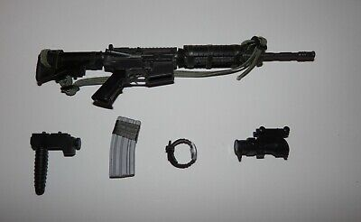 $19.99 • Buy Dragon 1:6 Scale USMC Recon Perry M-4 With For Grip, Sights, Watch & 1 Mag