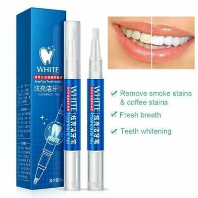 AU10 • Buy Magic Natural Teeth Whitening Gel Pen Oral Care Remove Stains Tooth Cleaning Tee