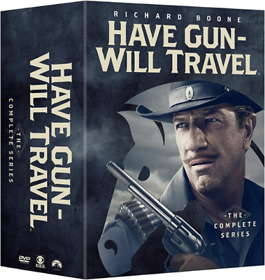 $46.89 • Buy HAVE GUN WILL TRAVEL: THE COMPLETE SERIES 35 DVD Box Set US SELLER Free Shipping