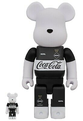 $399.98 • Buy BE@RBRICK F.C.Real Bristol COCA-COLA 100% 400% FCRB NEW