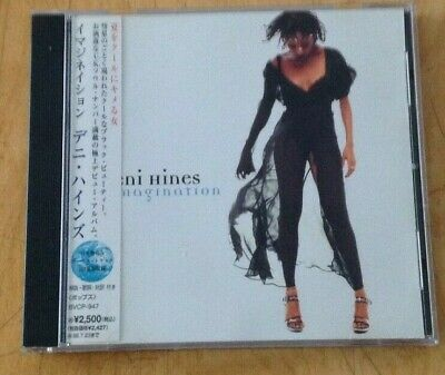 Deni Hines - Imagination Japanese Promo Cd & 2 Bonus & Obi Sash. • 6.99£