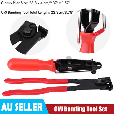 AU26.19 • Buy Cv Joint Boot Clamp Pliers Set Of 2 Car Banding Tool Ear Type Install Kit