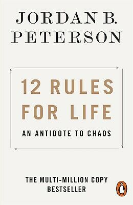 AU14.50 • Buy 12 Rules For Life: An Antidote To Chaos Jordan Peterson PAPERBACK FREE SHIPPING!