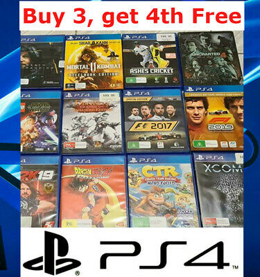 AU18.95 • Buy Various Playstation 4 PS4 Games (Drop Down Menu) TRACKED Post Updated 25/02