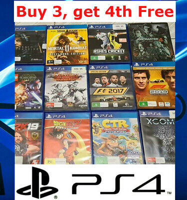 AU20.95 • Buy Various Playstation 4 PS4 Games (Drop Down Menu) Same Day Post Updated 23/10