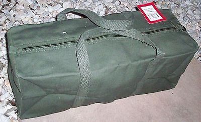 AU13.99 • Buy New Tool & Camping Bag Heavy Duty Canvas 18  - 46cm  Olive Green / Tent Peg Bag