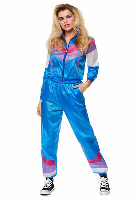Blue Shell Suit Costume • 12.99£