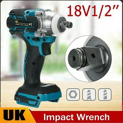 Replace For Makita DTW285Z 18V Brushless 1/2in Cordless Impact Wrench +LED Light • 22.69£
