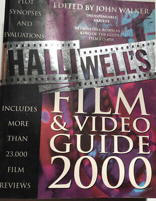£6.49 • Buy Halliwell's Film And Video Guide 2000 By Leslie-halliwell Book