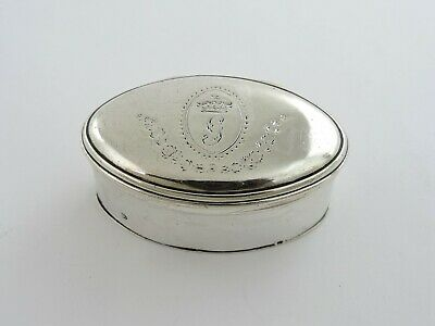 Beautiful Georgian SILVER NUTMEG GRATER, London 1809 By Phipps & Robinson • 780£