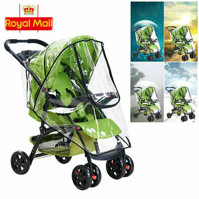 Plus Size Rain Cover Raincover For Universal Hauck Shopper Sport Buggy Pushchair • 6.98£