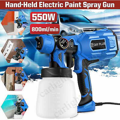 £27.50 • Buy 550W 800ML Electric Spray Gun Paint For Cars Home Wood Furniture Wall Sprayer
