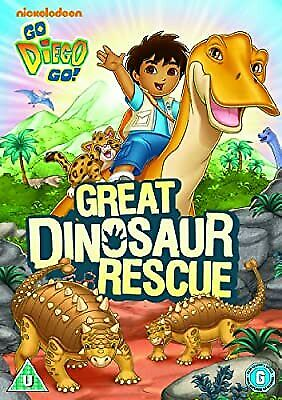 Go Diego Go!: Great Dinosaur Rescue [DVD], Go Diego Go, Used; Acceptable DVD • 2.19£