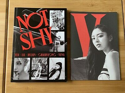 Kpop Itzy Official Not Shy Albums C Version With Lyric Book • 4.50£