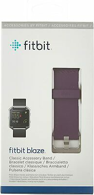 $ CDN20 • Buy Fitbit Blaze Accessory Band, Classic, Plum, Small - NEW