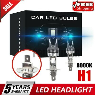 $8.65 • Buy 1 Pair H1 8000K 110W Headlight Foglight Car 3030 LED Light 20000LM Bulbs Blue