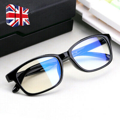 Gaming Glasses New Anti Fatigue Glare Clear Lens PC Gamers Blue Light Block HD C • 4.55£
