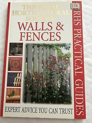 £4 • Buy Walls And Fences By Royal Horticultural Society (Paperback, 2000)