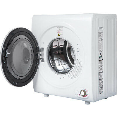 View Details 2.65 Cu.Ft +9 LBS Capacity With 1400W Drying Power Compact Tumble Laundry Dryer • 325.99$