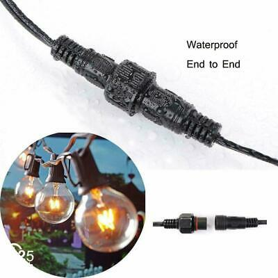 3M Extension Cable Waterproof For G40 Outdoor String Light Garden Globe • 6.99£