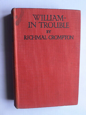 Richmal Crompton.William-In Trouble.1st Hardback Edition.Newnes.Thomas Henry • 14£