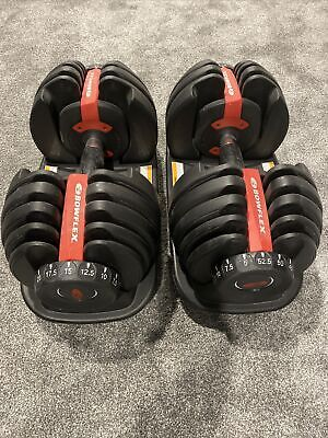 $ CDN900 • Buy WEIGHTS Bowflex SelectTech 552 Adjustable Dumbbells (Pair) ** Barely Used
