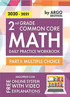 $ CDN23.52 • Buy 2020-2021 2nd Grade Common Core Math Daily Practice Workbook By ARGO Bros NEW