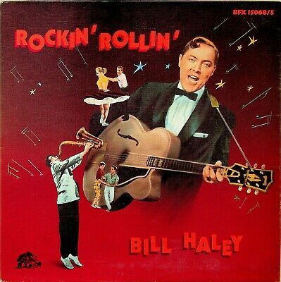 Bill Haley And His Comets- Rockin' Rollin' 5-LP BEAR FAMILY Vinyl (The Best Of) • 29.99£