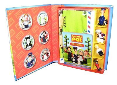 £11.50 • Buy NEW   POSTMAN PAT  READ & PLAY GIFT SET With 6 TOY FIGURES ,GIANT PLAYMAT & Book