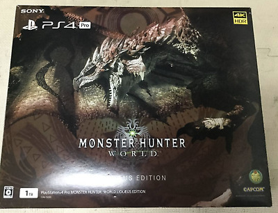 AU1184.25 • Buy PlayStation 4 Pro Console MONSTER HUNTER WORLD LIOLAEUS EDITION JAPAN PS4