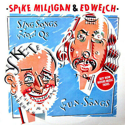 ID1085z - Spike Milligan - Sing Songs From Q8 - UAG 30223 • 9.17£