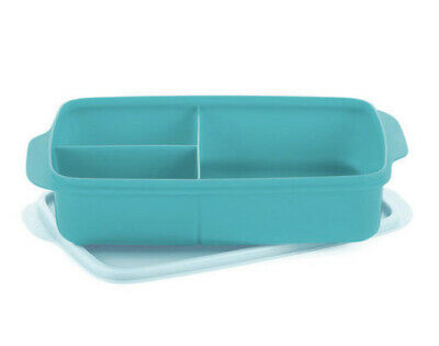 AU19.90 • Buy Tupperware Large Divided Lunch Box Sandwich Keeper NEW