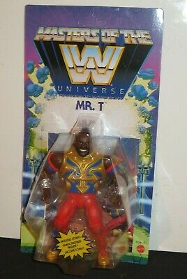 $43.43 • Buy Masters Of The Wwe Universe Motu Mr.t Action Figure Includes Free Mini-comic