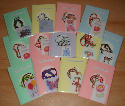 £2 • Buy Counted Cross Stitch Card Kit.Various Designs. New & Unused