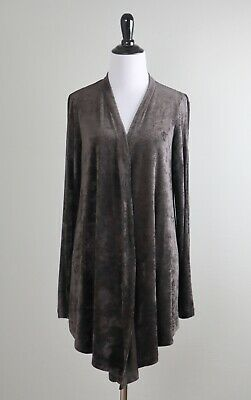 $ CDN37.81 • Buy W BY WORTH New York $198 Soft Velvet Terry Open Sleeve Sweater Top Size Small