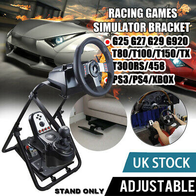 Steering Wheel Stand Racing Simulator Gt Gaming For Ps4 Logitech G920 G29 T300s • 45.99£