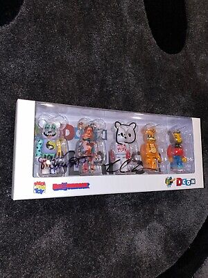 $420 • Buy Medicom Bearbrick Designer Con 2019 Series 1 400% Set Of 2 Signed By All Artist