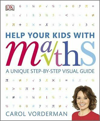 Help Your Kids With Maths By Carol Vorderman, Paperback Used Book, Good, FREE &  • 4.61£