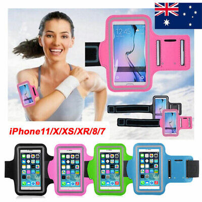 AU9.99 • Buy Sports Running Armband Case Jogging Gym Bag Cover Holder For IPhone 11 X 8 7 6s