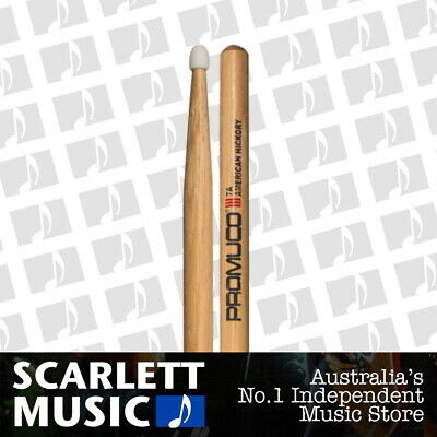 AU19.95 • Buy Promuco American Hickory 7A Nylon Tip Drum Sticks