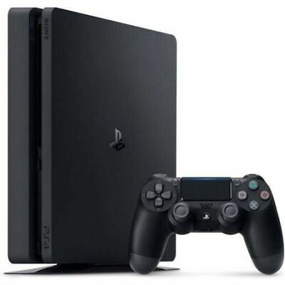 AU359 • Buy Playstation 4 PS4 SLIM Console 500 GB + 5 Games & 10 DVDs EXPRESS POST Warranty